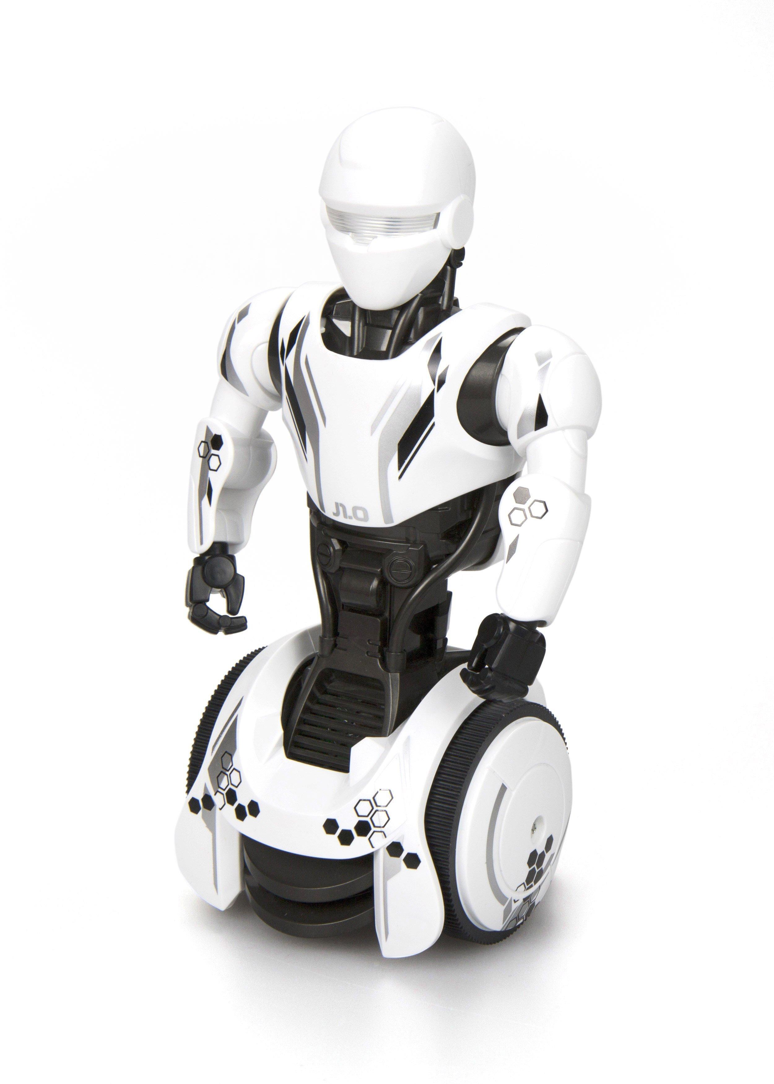 tirdzniecības robots pārvietojas