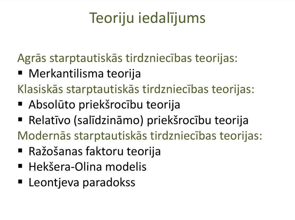 Latvijas ārējās tirdzniecības politika