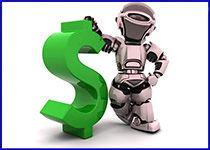 Robot konsultants biržā