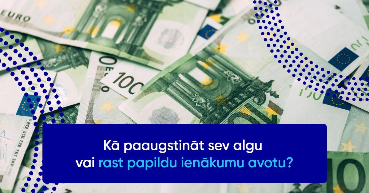 droši ienākumi tiešsaistē
