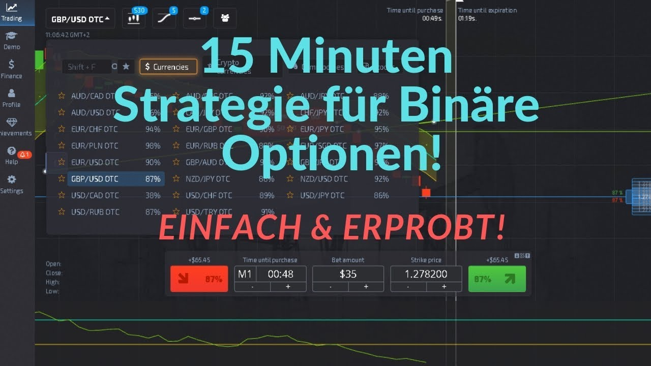 kā izstrādāt bināro opciju tirdzniecības stratēģiju