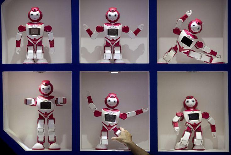 tirdzniecības robotu bizness