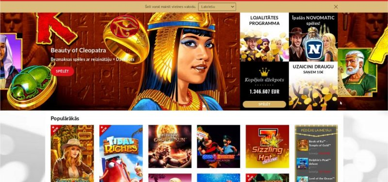 Pieaug valsts budžeta ieņēmumi no interneta azartspēlēm