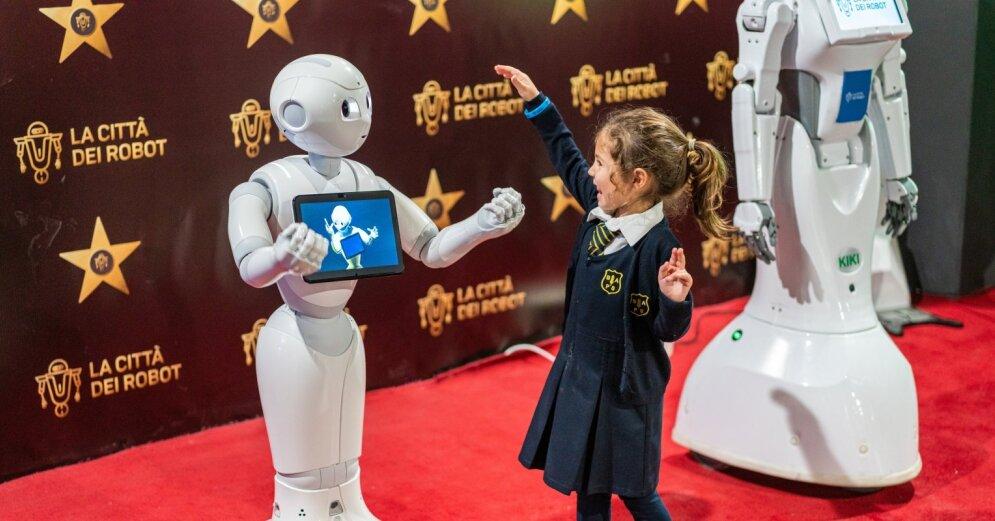 tirdzniecības robota izstrāde ar